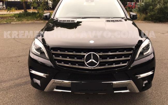 Аренда Mercedes ML на свадьбу Кременчуг