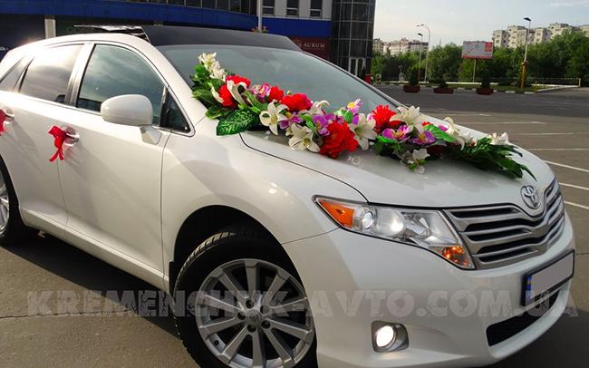 Аренда Toyota Venza на свадьбу Кременчуг
