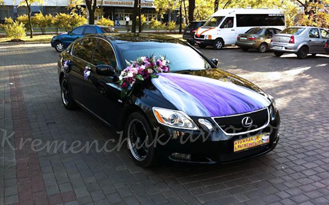 Аренда Lexus GS на свадьбу Кременчуг