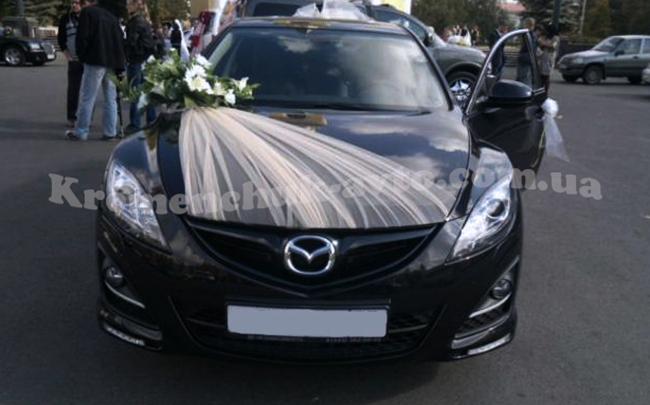 Аренда Mazda 6 на свадьбу Кременчуг