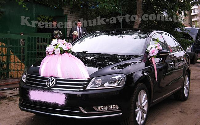 Аренда Volkswagen B7 на свадьбу Кременчуг