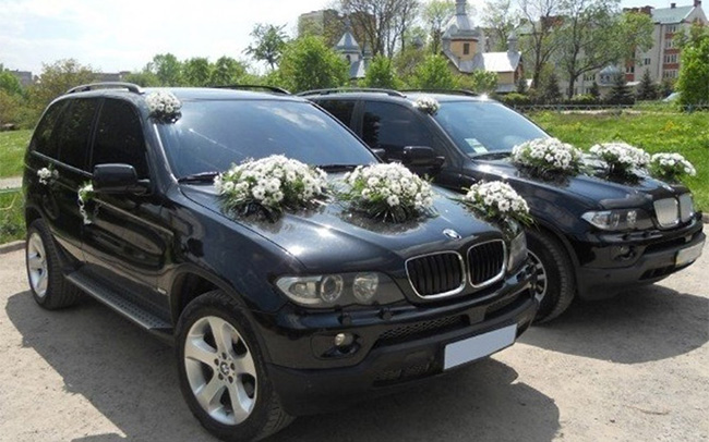 Аренда BMW X5 E53 на свадьбу Кременчуг