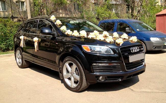 Аренда Audi Q7 на свадьбу Кременчуг