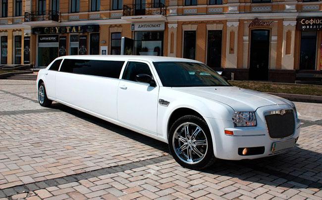 Аренда Лимузин Chrysler 300C на свадьбу Кременчуг