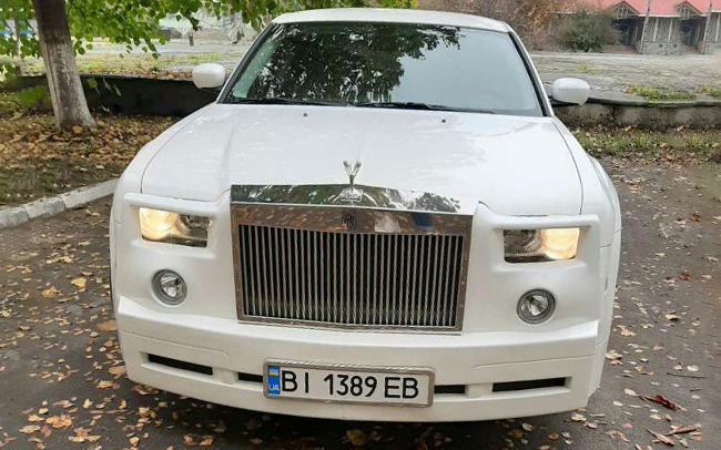 Аренда Chrysler 300C Phantom на свадьбу Кременчуг
